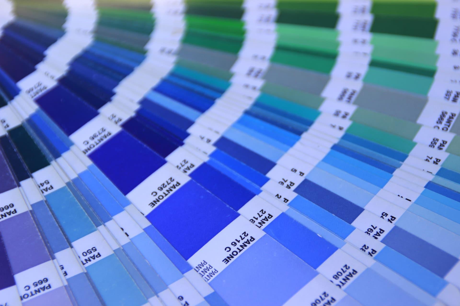 pantone, choisir sa couleur